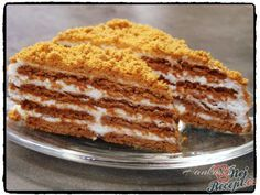 1 recept ve složce BR Easy No Bake Desserts, Sweet Desserts, Sweet Recipes, Dessert Recipes, Yummy Treats, Yummy Food, Different Cakes, Salty Snacks, Sweet And Salty