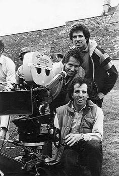 The directors of Top Secret! David Zucker, Jim Abrahams and Jerry Zucker