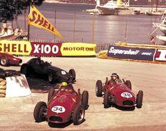 Monaco 1958: Luigi Musso, Mike Hawthorn & Harry Schell.