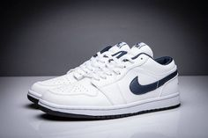 Buy Air Jordan 1 Retro Low OG White Midnight Navy Blue Leather GnKGe from  Reliable Air Jordan 1 Retro Low OG White Midnight Navy Blue Leather GnKGe  ... c9213451c2