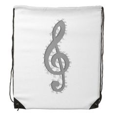 Electric Treble Clef Backpack