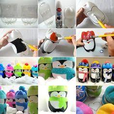penguin bottles