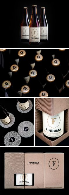 packaging / finìsima - beer PD