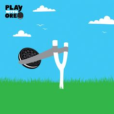 Want bliss? Aim an Oreo straight for your mouth. #PlayIt #PlaywithOreo