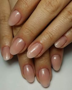 Image result for gel nails natural oval