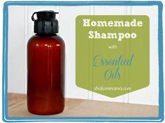 Homemade Shampoo with Essential Oils
