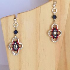 A personal favourite from my Etsy shop https://www.etsy.com/uk/listing/399423937/moroccan-dreams-chainmaille-earrings