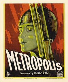 """CINEMA: """"Metropolis"""", Fritz Lang (1927)."""