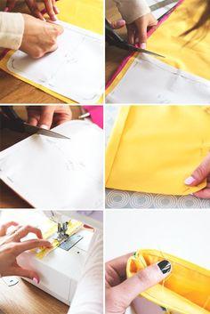 zipper purse instructions 2