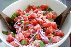 watermelon feta perfection!