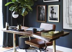 6x stijlvolle donkere studeerkamers - Alles om van je huis je Thuis te maken | HomeDeco.nl