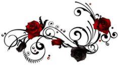 rose vine tattoo - Google Search
