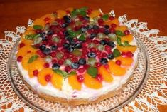 Tvarohovo-ovocná torta so želé Pie, Cakes, Food, Torte, Cake, Cake Makers, Fruit Cakes, Kuchen, Essen