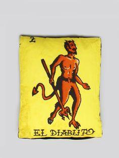 El Diablito Pillow #gypsyinteriors