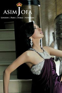 Party Wear Collection 2013 by Asim Jofa.    Renowned jewellery and fashion designerAsim Jofahas played up with innovative cuts and plush tones to carve his latestParty Wear Collection 2013 for women.