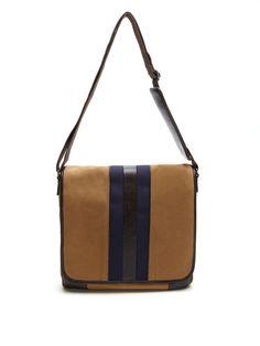 Slim Stripe Messenger Bag  MessengerBags #CrossbodyBags