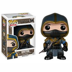 This is a Breton POP Vinyl Figure that is produced by Funko. Breton is a major character in the Elder Scrolls franchise. The Elder Scrolls is an amazing video game franchise and it's great to see that