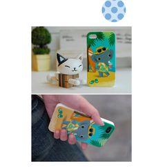 Zakka雜貨網: iPhone 4/4S背蓋彩殼-小象在夏威夷