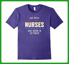 Mens Favorite Nurse Birthday T-Shirt Small Purple - Careers professions shirts (*Amazon Partner-Link)
