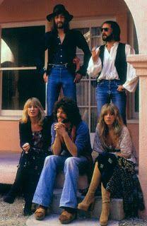 Fleetwood Mac - Mick Fleetwood, John McVie, Chris McVie, Lindsey Buckingham and Stevie Nicks