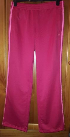 Adidas Womens Pink 3 Contrast Strips Tracksuit Bottoms Trousers Size M UK Tracksuit Bottoms, Adidas Women, Adidas Originals, Bermuda Shorts, Trainers, Pink Ladies, Active Wear, Contrast, Clothes For Women