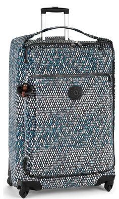 Luggage Kipling Basic K15373 Darcey L - Extra Large Spinner Animal Skin