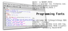 7 fuentes ideales para programar