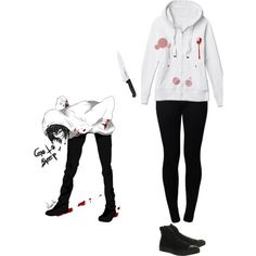 """Jeff the killer"" by fangirlinspace on Polyvore"