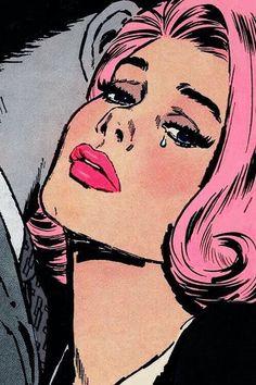 Imagen de pink, comic, and pop art