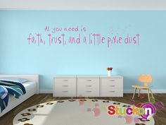 Need Faith  - Wall words, wall sayings, wall quotes, wall expressions, kids, love, family, sisters, happiness, heart, life VWQ-1075 on Etsy, $50.36