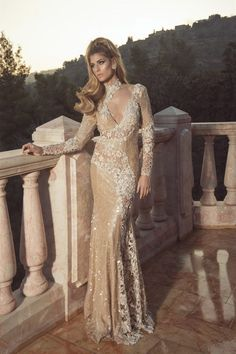 Glamorous Evening Dresses by Oved Cohen - Fashion Diva Design