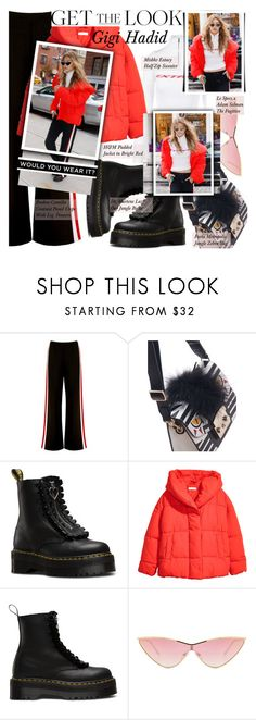 """""""GET THE LOOK: Gigi Hadid"""" by merrygorounds ❤ liked on Polyvore featuring MISBHV, Boohoo, Furla, Lazy Oaf, Jakke, Le Specs, GetTheLook, CelebrityStyle, polyvoreeditorial and blackfriday"""