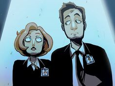 Fan Art Friday: X-Files by techgnotic on DeviantArt