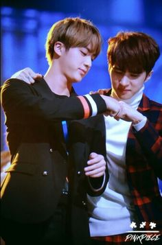 Aww!! I would love if they want on Bromance ^^ Ken and Jin