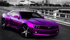 Purple Camaro 2015 | Purple Camaro HD Wallpaper For Desktop Background