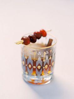 Cranberry Winter Wedding Cocktail | Milton Photography on @heyweddinglady via @aislesociety