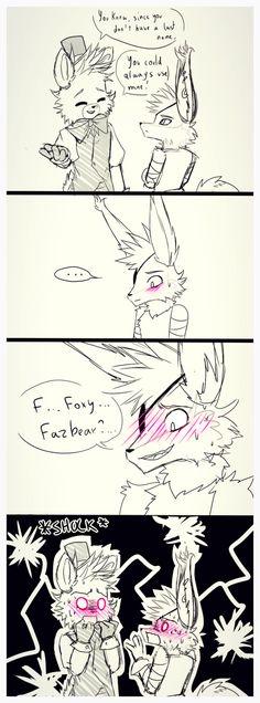 Foxy Fazbear ? by Myebi on DeviantArt