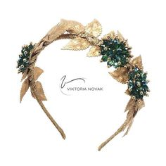 J E W E L S • Hand crafted by @viktorianovak  artistic pieces available via our online boutique Perfect for any occasion...any excuse to wear a crown