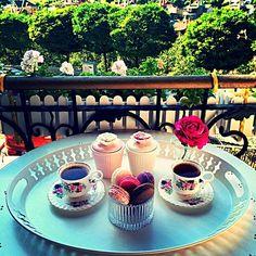 En Şık Türk Kahvesi Sunumu Örnekleri - Sunum Önemlidir, Instagram Türk Kahvesi Sunumları (4)