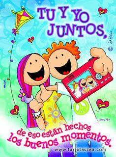 tarjetas de amor - Buscar con Google Spanish Greetings, Birthday Cards, Happy Birthday, Spanish Memes, Spanish Quotes, Love Others, Happy B Day, Jenifer, Love Images