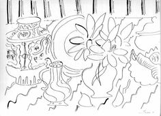 Image result for henri matisse still life drawing