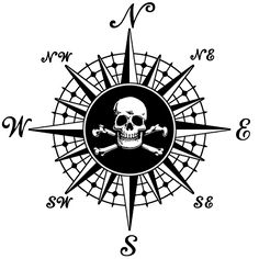 Pirate Compass Rose