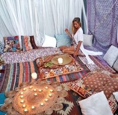 Quick advertised bohemian Meditation Room look at more info Meditation Room Decor, Meditation Corner, Relaxation Room, Meditation Space, Home Yoga Room, Zen Room, Yoga Rooms, Zen Space, Den Ideas