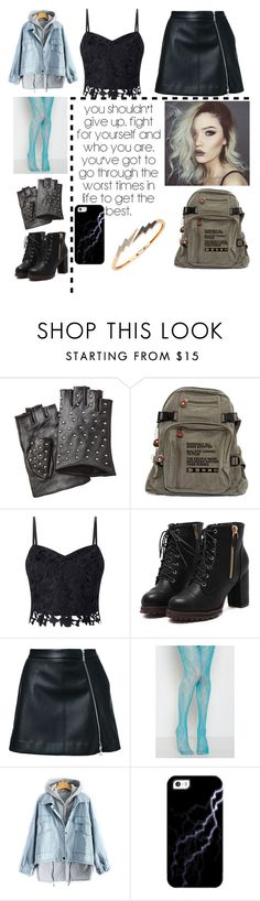"""""""My Agents of Shield oc: Caterina Abenaki"""" by dont-his-panic ❤ liked on Polyvore featuring Karl Lagerfeld, NBD, Lipsy, Guild Prime, Casetify, Bee Goddess, Superhero, AgentsofSHIELD and myOC"""