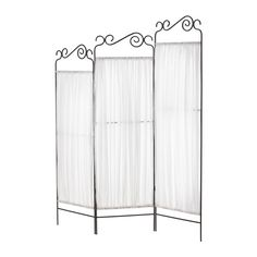 EKNE Room divider IKEA Practical screen and room divider. Foldable - saves space when not in use.  One on either side could frame the wedding party and then brought to the reception to hold seating chart