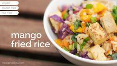 mango fried rice from Fried Dandelions