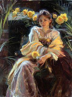Princesa Nadie: Daniel F. Gerhartz, mujeres y flores