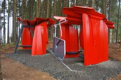 shelter in the forest - Buscar con Google