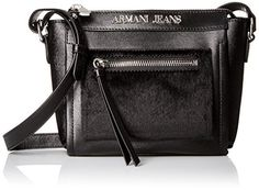 c9cd57587eb2 Armani Jeans Eco Pony Hair and Eco Leather Crossbody