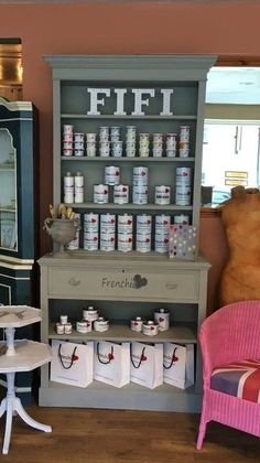 We are delighted to announce that we are now proud stockists of the Frenchic Furniture Paint.